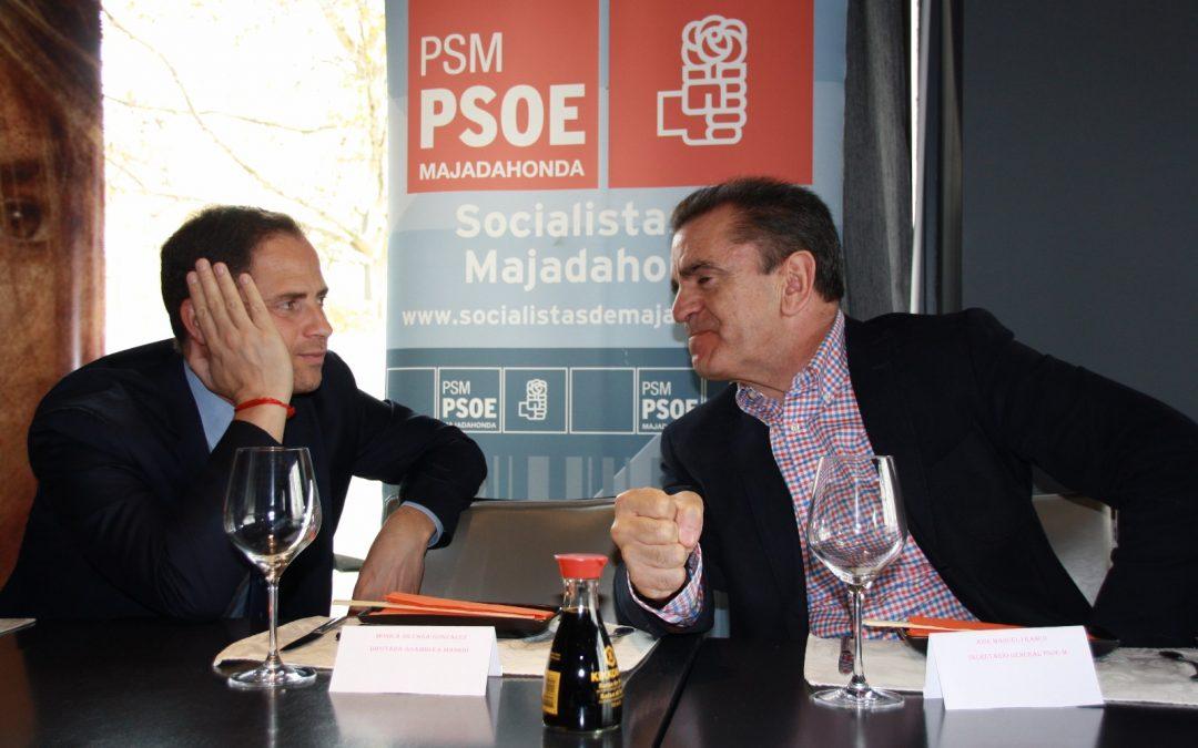 Socialistas de Majadahonda  y Las Rozas aunan posturas  para ofrecer soluciones conjuntas