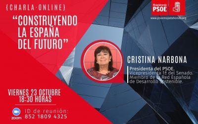 Charla-Debate Construyendo la España del Futuro con Cristina Narbona
