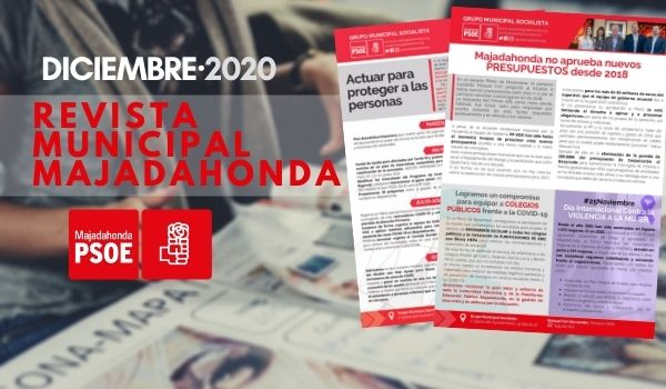 PSOE Majadahonda: Revista Municipal Diciembre 2020