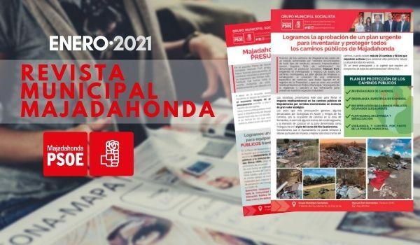 PSOE Majadahonda: Revista Municipal Enero 2021
