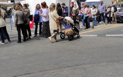 El PSOE exigirá en el Pleno Municipal una solución a los problemas de seguridad peatonal en los accesos al Mercadillo